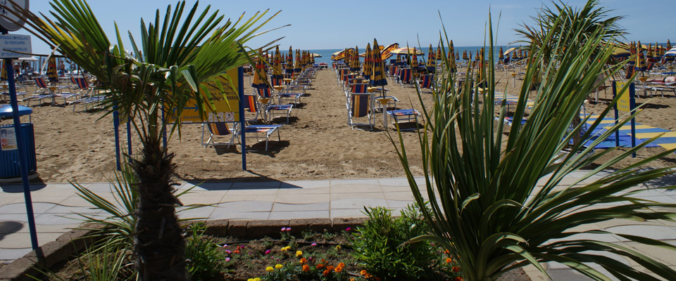 Only 30 meters away from the sea and beach